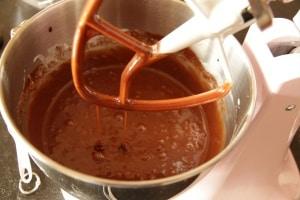 Buttermilk brownie batter