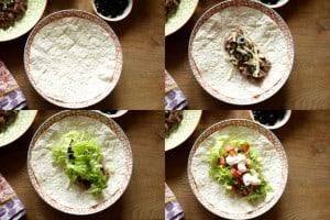 Bean Burritos ~ Living on Cookies