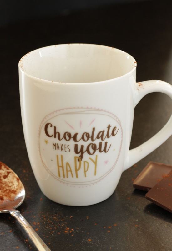 Chocolate Lava Mug Cake ~ Living on Cookies