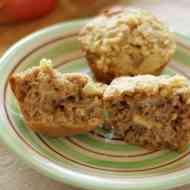 Apfel-Gewürz Muffins mit Streuseltopping