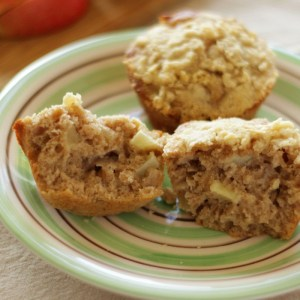 Apple Spice Muffins with Streusel Topping