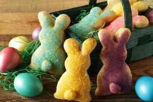 Osterhasen aus Topfenteig ~ Living on Cookies