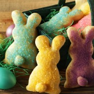 Easter Bunnies made from Topfen Dough