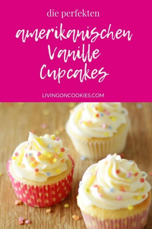 Jeder braucht ein Grundrezept für Vanille Cupcakes, das einfach ist und bei dem die Cupcakesperfekt gelingen.Jedes Mal. Hier ist das beste Rezept, dass ich je gebacken habe. Die Cupcakes sind saftig und fluffig und nicht zu süß. Probier das Rezept aus!