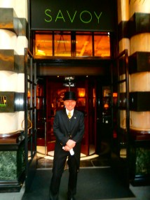 London Savoy Hotel Doormen