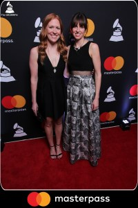 At the Grammys with my sister