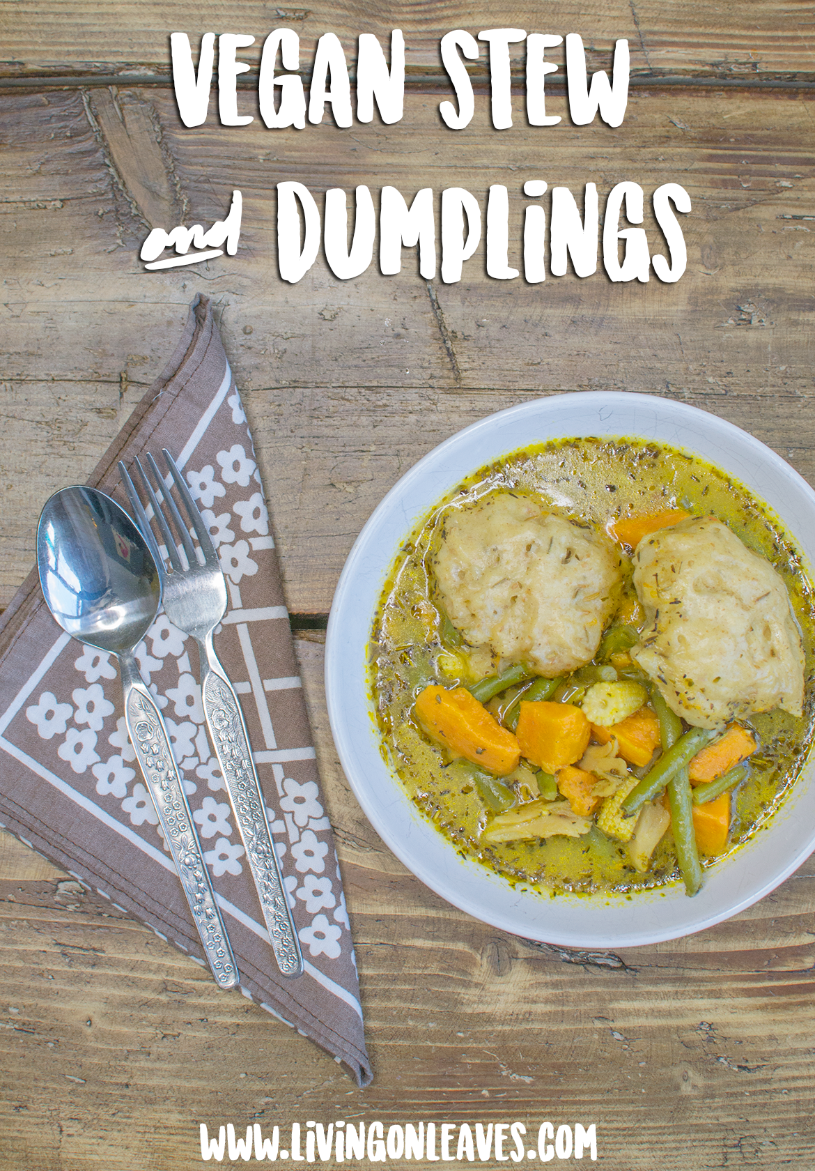 vegan stew and dumplings recipe