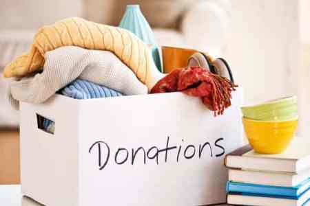 Get charities to take your unwanted stuff