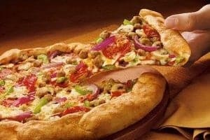 Pizza Hut: Slice 50% off pizza prices online