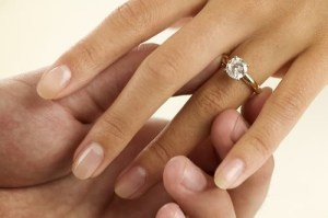 Save money with a vintage diamond engagement ring