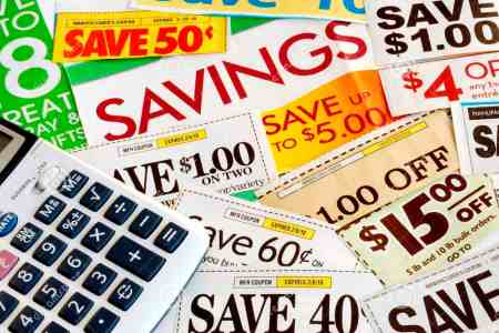 Extreme couponing for healthy food