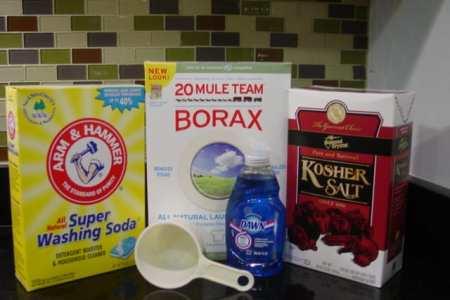 Make your own dishwasher detergent