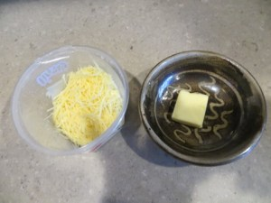 Treat yourself to toppings such as real butter and shredded cheese