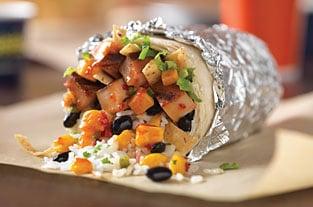 QDOBA Mexican Eats: BOGO free entrée for high-five