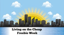 living on the cheap freebie week
