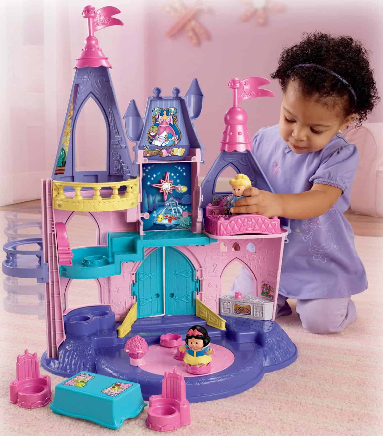 fisher price little people castle living on the cheap
