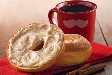 Einstein Bros offers free bagel & shmear