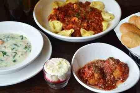 Free take-home entrée at Olive Garden