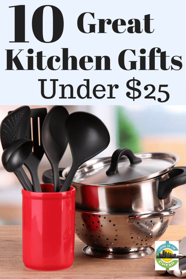 As an avid cook who feels at home in the kitchen, I'm familiar with lots of kitchen tools and gadgets. This list of affordable kitchen gifts will make life easier for the home chef on your holiday list.