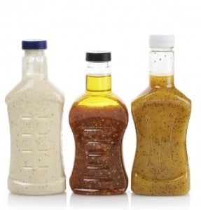 Assortment Of Bottled Salad Dressing