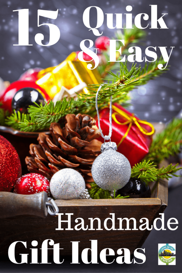 Christmas gift ideas for easy to make, unique, special ...