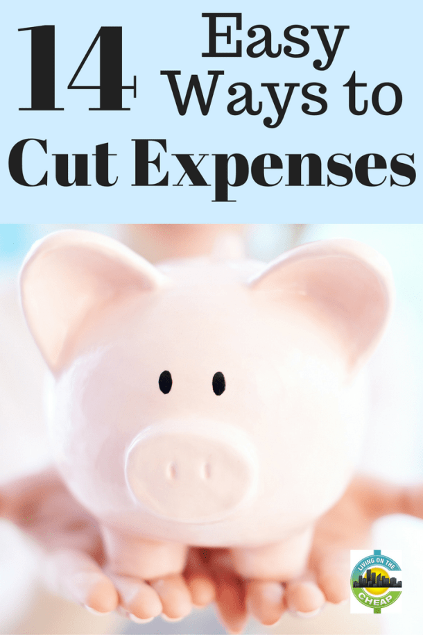 It's a new year, and that means it's time to get your financial house in order. No matter what mistakes you made last year, you get a do-over this year. Here are 14 ways to slash expenses in the new year. #savemoney #moneysavingtips #budgetingtips