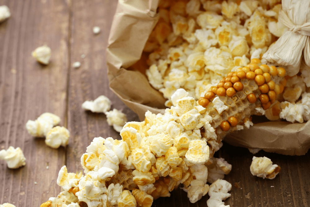 own cheap and healthy microwave popcorn