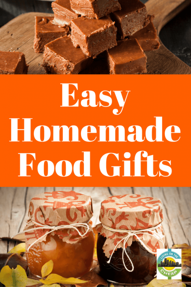 Easy Recipes For Homemade Food Gifts Living On The Cheap