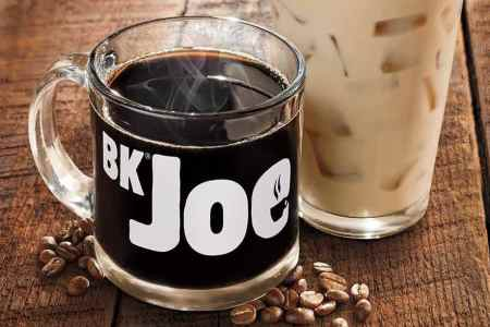 Get any size coffee for 99-cents at Burger King