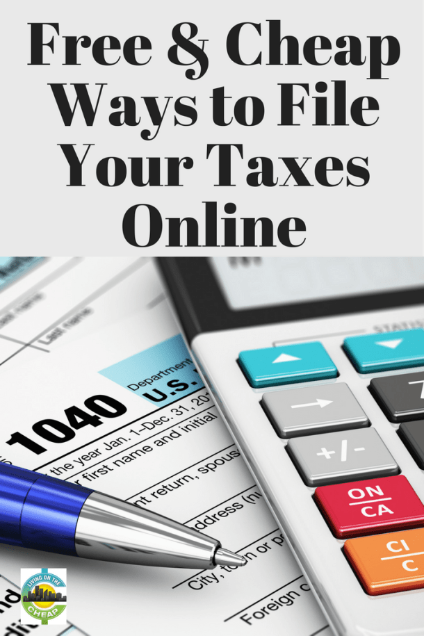 Free & Cheap Ways to File Your Taxes Online