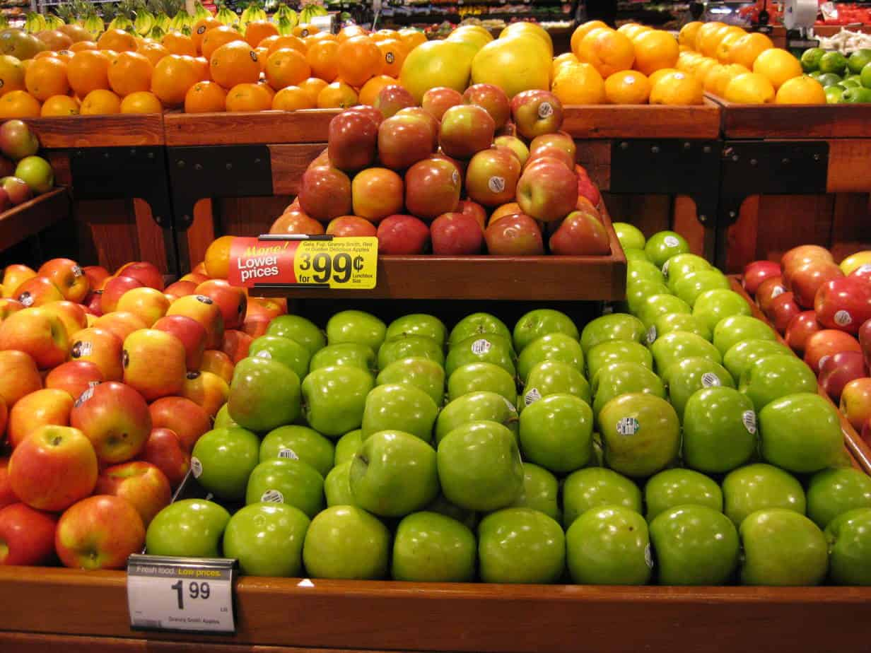 King Soopers apples - Living On The Cheap
