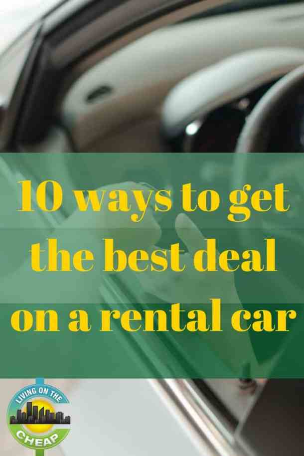 Ways To Get Cheap Rental Cars
