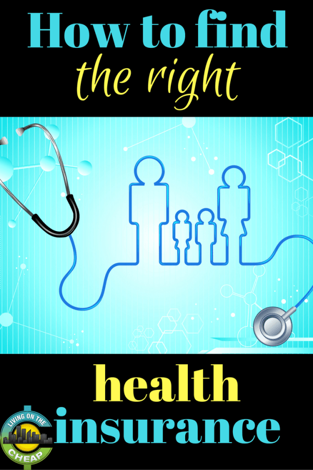 Figuring out health insurance? Make sure you get the right plan for you and your needs. Check out this post on how to find the right health insurance.