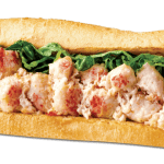 Get free Lobster & Seafood Sub at Quiznos