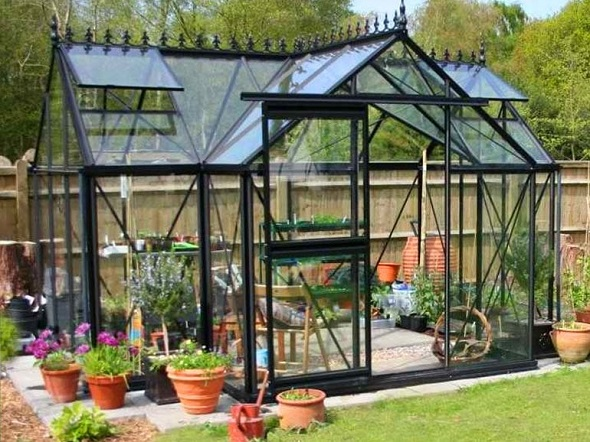 best glass for greenhouse