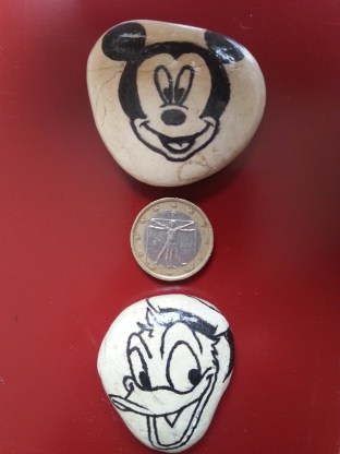 Mickey and Donald - Magnets