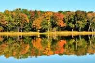Autumn at Hanby Lake