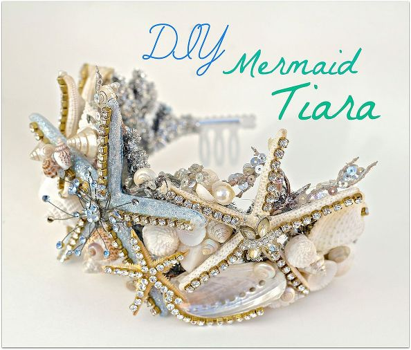 diy mermaid tiara