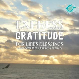 express gratitude for life's blessings