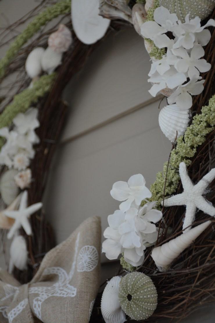 green seashell wreath (4)