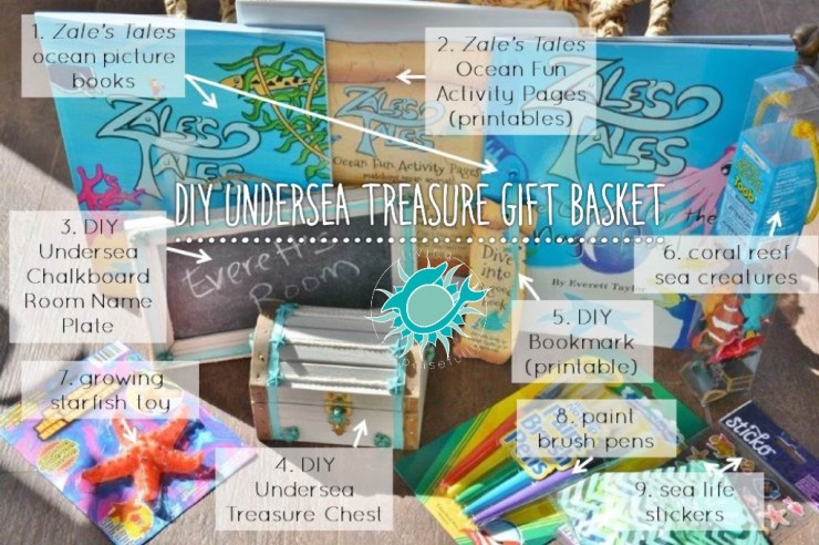 DIY Undersea Treasure Gift Basket (2)
