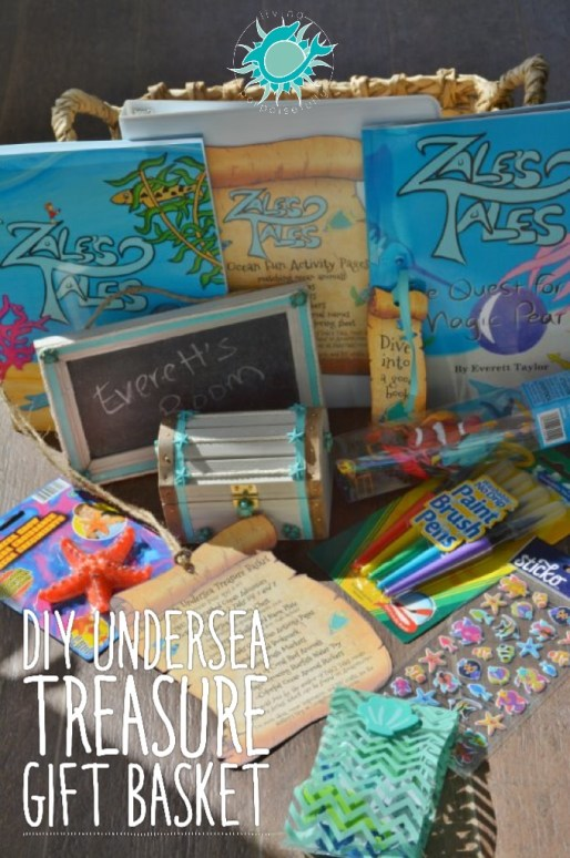 DIY Undersea Treasure Gift Basket