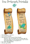 ocean bookmark printable 2