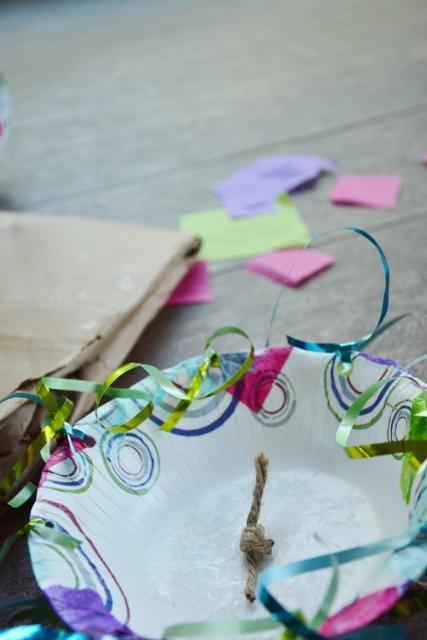 Step 2c Jellyfish Craft Kit - twine knot