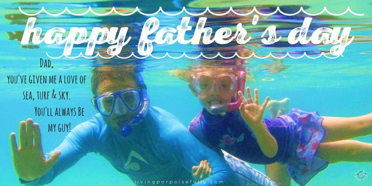 Happy Father's Day for a sea-turf-sky guy