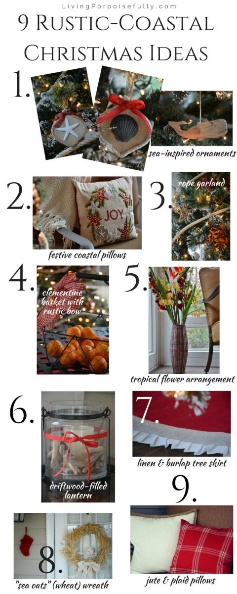 9 Rustic-Coastal Christmas Decor Ideas