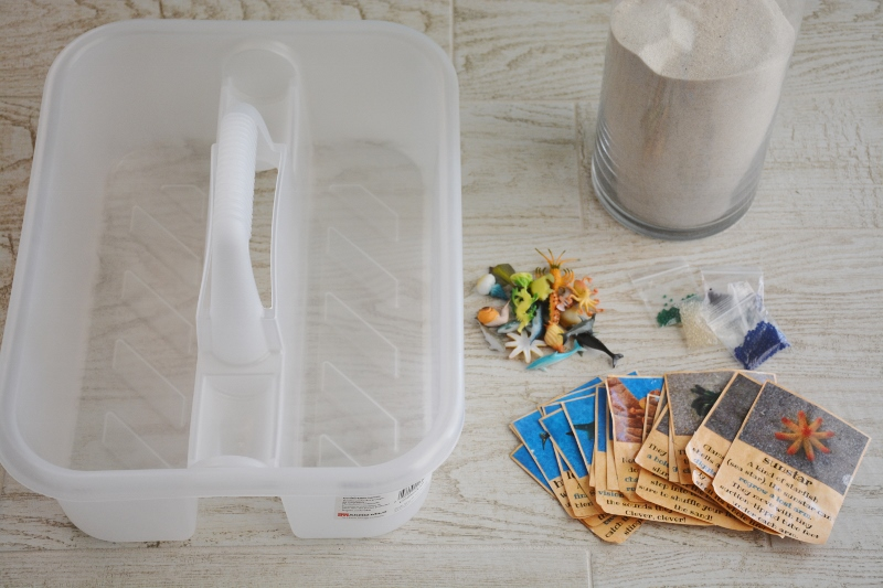Sand and Sea Animal Treasure Hunt Supplies
