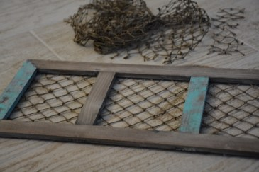 fishing net frame diy 6
