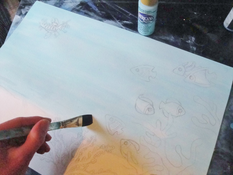 Mira the Misfit Sea Dragon - illustrating by Everett Taylor 1 (800x600)