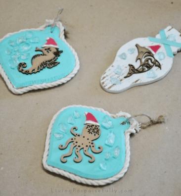 coastal ornament crafting